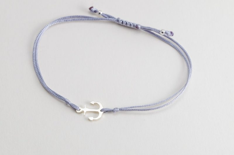 Anker Sterlingsilber Armband viele Farben zur Auswahl