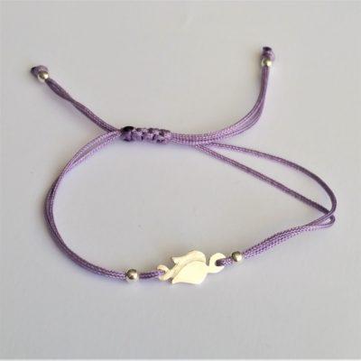 Tulpe Sterlingsilber Armband viele Farben zur Auswahl