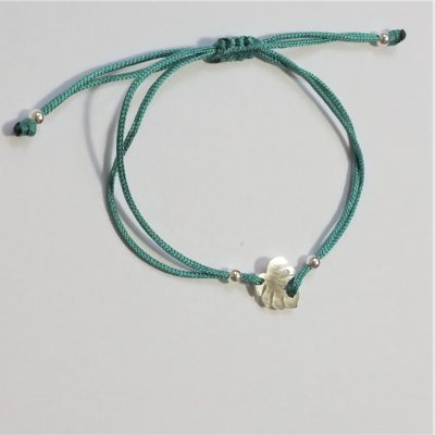 Monsterablatt Sterlingsilber Armband viele Farben zur Auswahl