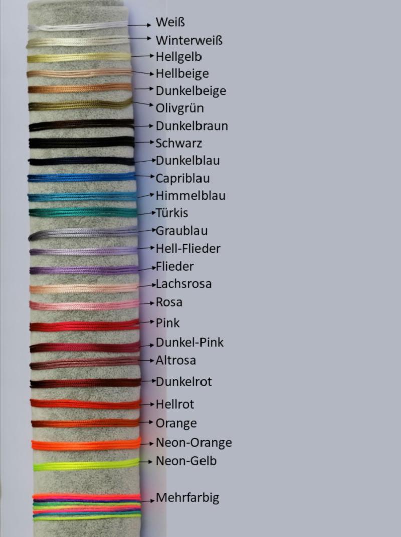Bändchen Farbauswahl