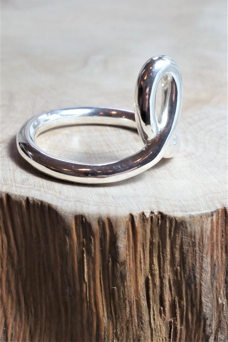 Unendlichkeits Ring Sterlingsilber
