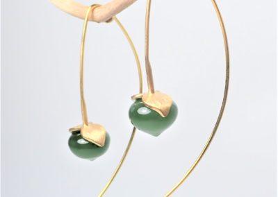 Jadeohrringe 1